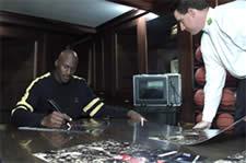 Michael Jordan Upper Deck PenCam
