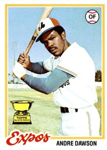 1978 Topps Andre Dawson