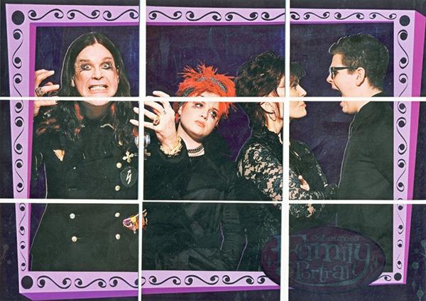 2002 Inkworks The Osbournes Family Portrait