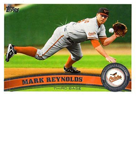 2011 Topps Sparkle 378 Mark Reynolds
