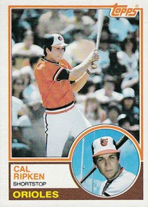 1983 Topps Cal Ripken