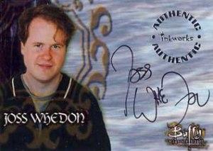 1998 Inkworks Buffy the Vampire Slayer Season 1 Autographs A1 Joss Whedon - Creator