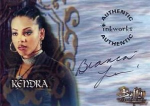 1999 Inkworks BTVS Auto A9 Bianca Lawson as Kendra