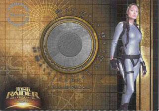 2003 Inkworks Tomb Raider Cradle of Life Pieceworks PW2 Wet Suit Worn by Angelina Jolie as Lara Croft