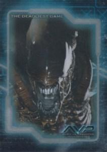 2004 Inkworks Alien vs Predator Deadliest Game