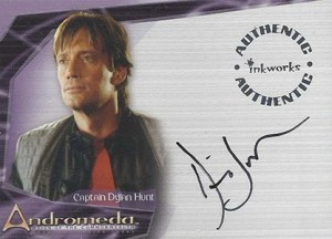 2004 Inkworks Andromeda Reign of Commonwealth Autographs Kevin Sorbo