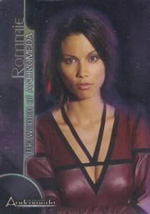 2004 Inkworks Andromeda Reign of Commonwealth Women of Andromeda Box Loader