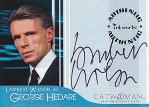 2004 Inkworks Catwoman Autographs Lambert Wilson