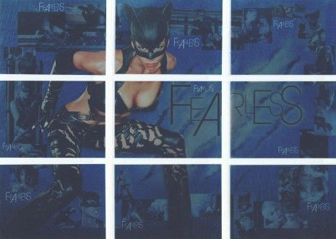 2004 Inkworks Catwoman Fearless