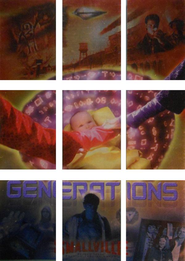 2004 Inkworks Smallville Season 3 Generations