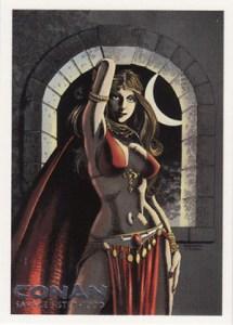 2004 Rittenhouse Conan Art of the Hyborian Age Savage Sisterhood