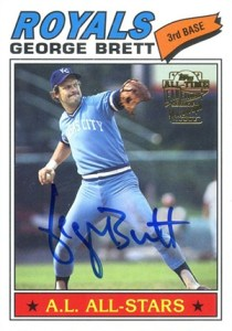 2004 Topps All-Time Fan Favorites Autographs George Brett