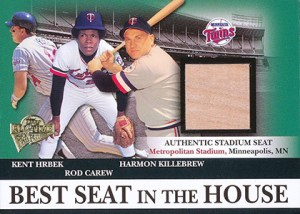 2004 Topps All-Time Fan Favorites Best Seat in House