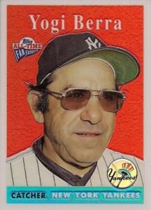 2004 Topps All-Time Fan Favorites Refractor Yogi Berra