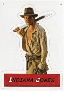 2008 Topps Indiana Jones Heritage Magnets