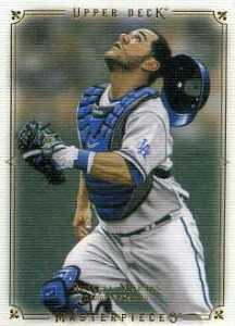 2008 Upper Deck Masterpieces Baseball 79 Russell Martin