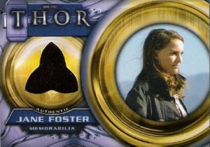 2011 Upper Deck Thor Memorabilia Cards F2 Natalie Portman as Jane Foster