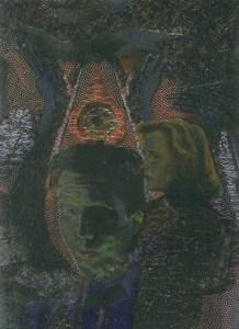 1996 Topps X-Files Season 2 Etched Foil