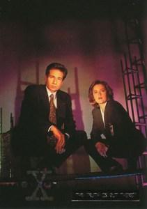 1996 Topps X-Files Season 2 Foil