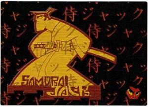 2002 Artbox Samauri Jack Japanese Chrome