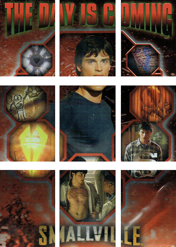 2003 Inkworks Smallville Season 2 Day Is Coming
