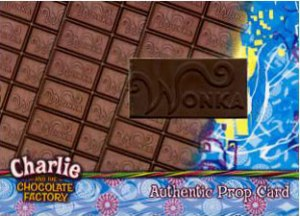 2005 Artbox Charlie and the Chocolate Factory Prop Cards Chocolate Bar (490)