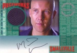 2005 Inkworks Smallville Season 4 Autographed Pieceworks