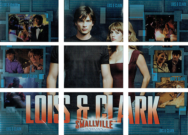 2005 Inkworks Smallville Season 4 Lois and Clark
