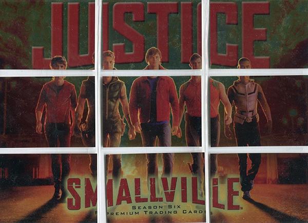 2008 Inkworks Smallville Season 6 Justice