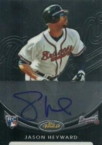 2010 Topps Finest Baseball Rookie Redemptions Autograph Jason Heyward