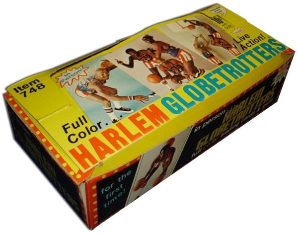 1971 Fleer Harlem Globetrotters Box