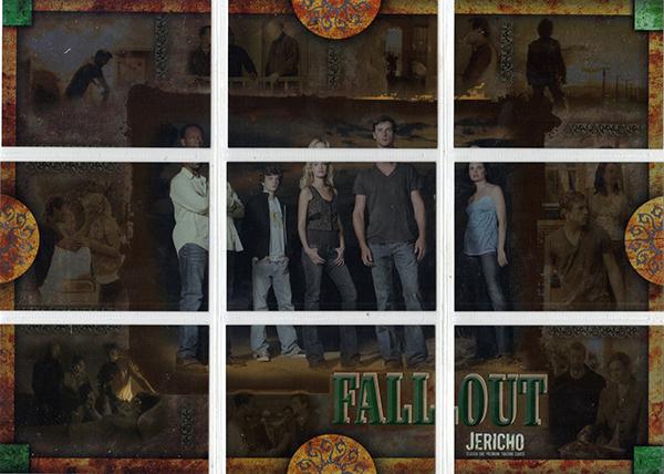 2007 Inkworks Jericho Season 1 Fallout