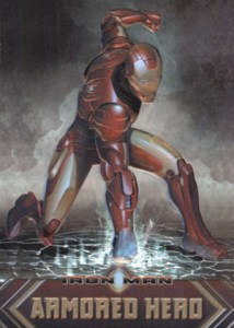 2008 Rittenhouse Iron Man Armored Hero