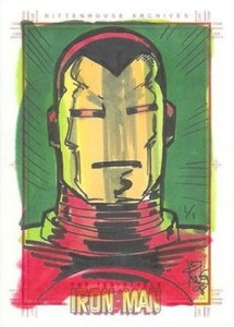 2008 Rittenhouse Iron Man Sketch Card