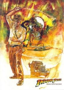 2008 Topps Indiana Jones Masterpieces Promo P2