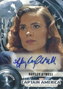2013 Captain America The Winter Soldier Autographs Hayley Atwell