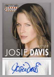 2015 Panini Americana Autographs Josie Davis