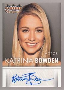2015 Panini Americana Autographs Katrina Bowden