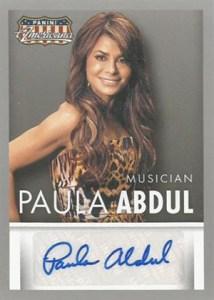 2015 Panini Americana Autographs Paula Abdul