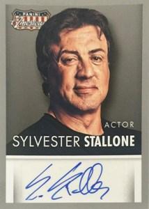 2015 Panini Americana Autographs Sylvester Stallone