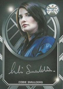 2015 Rittenhouse Marvel Agents of Shield S1 Autographs Cobie Smulders Silver Signature