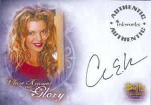 BTVS WOS Autographs A5 Clare Kramer as Glory