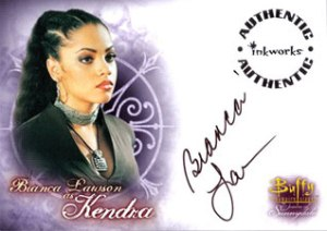 BTVS WOS Autographs A7 Bianca Lawson as Kendra