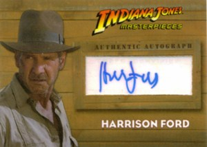Indiana Jones Masterpieces Harrison Ford Autograph