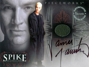 PW2A Leather Coat worn by James Marsters as Spike on Angel
