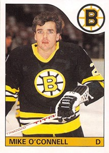 1985-86 O-Pee-Chee Mike O'Connell
