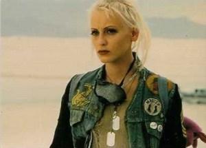 1995 Comic Images Tank Girl Medallion Card