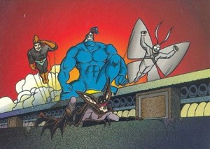 1997 Comic Images The Tick Base