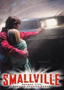 2007 Inkworks Smallville Season 5 Promo SM5-UK