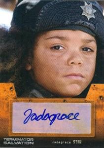 Terminator Salvation Autograph Jadagrace as Star